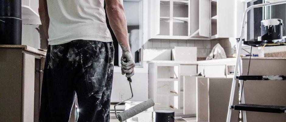 Kueche renovieren DIY Upcycyling Hand im Glueck