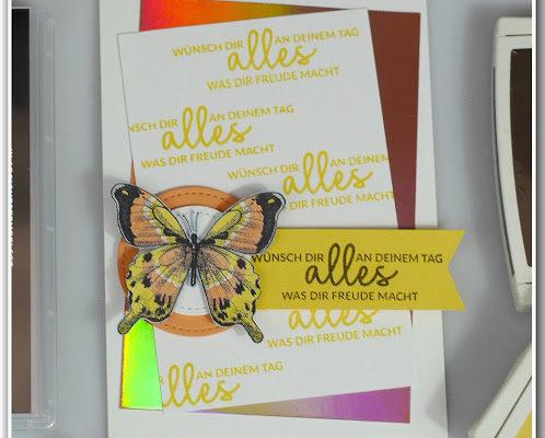 "DIY Geburtstagskarte ""Alles, was Freude macht"""