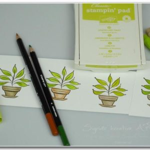 kolorieren-marker-stampin-blends-wassertankpinsel-stampin-up Geburtstagskarte selber machen Hand im Glueck