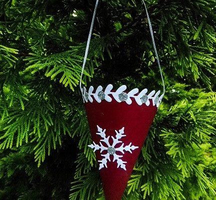 Schultüte für den Tannenbaum