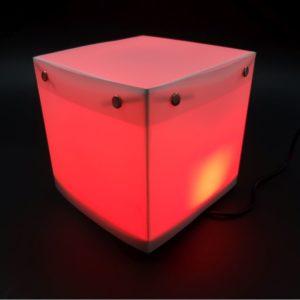 Quadratische Designerlampe