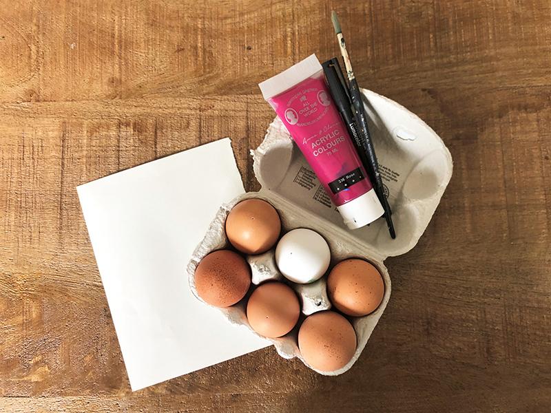 DIY Glueckseier zu Ostern selber machen Hand im Glueck