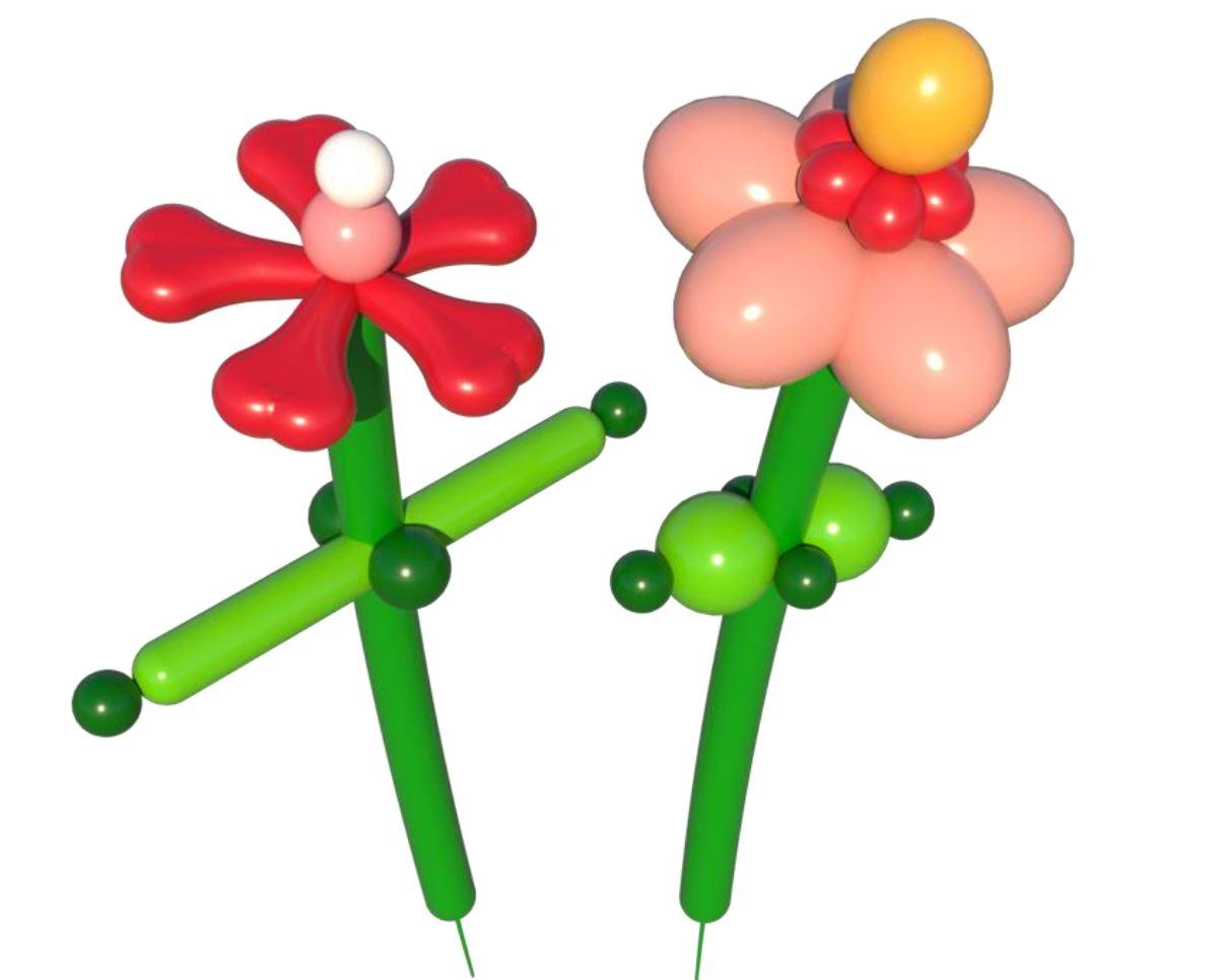 "DIY Blumen aus Ballons ""Jette & Minna"""
