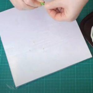 Fixierplatte für Quilling (festhalten) selber machen_hand-im-glueck.de