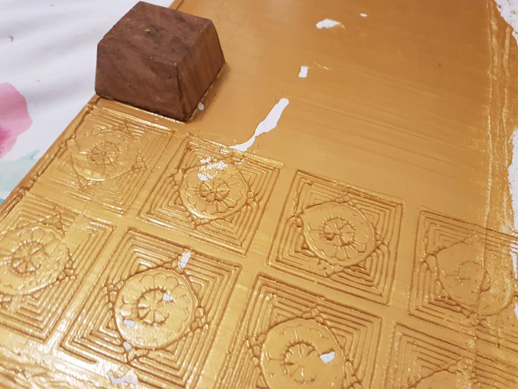 K1024_Inspiration auf Leinwand_goldene antike Symbole stemplen_hand-im-glueck (13)