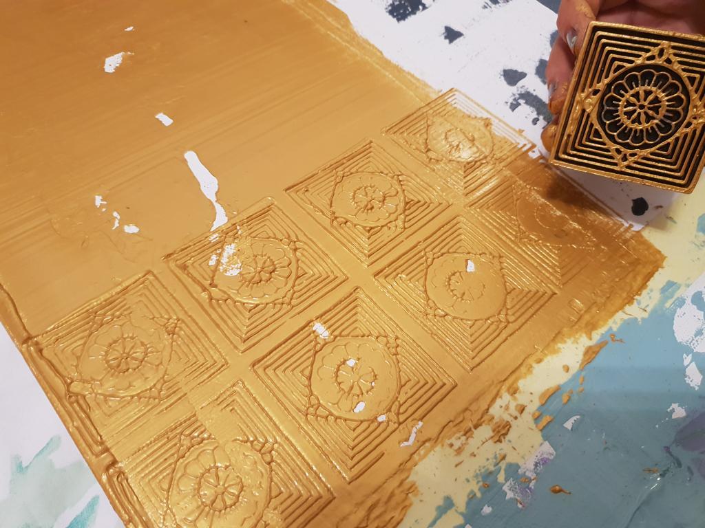 K1024_Inspiration auf Leinwand_goldene antike Symbole stemplen_hand-im-glueck (6)