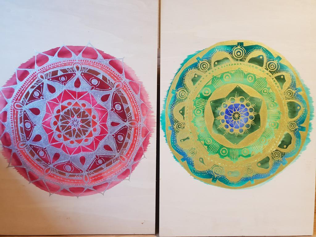 K1024_Mandala mit Wasser- & Metallicfarben auf Holz malen (26)